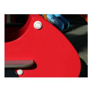 Playground for Children 5 Reserve aux Enfants Postcard