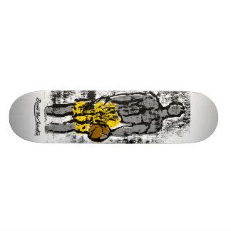 Playground King Yellow - Basketball Skateboard Deck