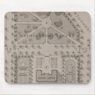 Playground, Washington Square, San Francisco Mouse Mat