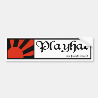 playhat rising sun STICKER