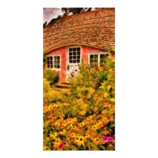 Playhouse - The Children's Cottage Custom Photo Card