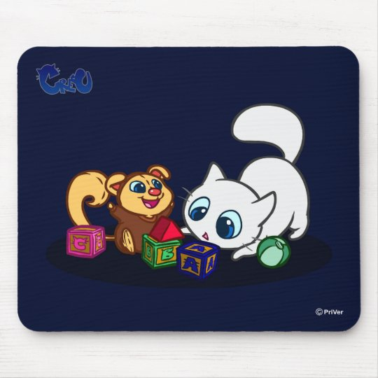 Playing and Learning Mouse Mat