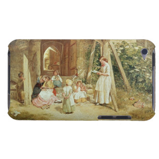 Playing at Schools, 1857 (oil on panel) Barely There iPod Cover