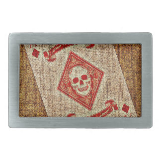 Playing Card Belt Buckle