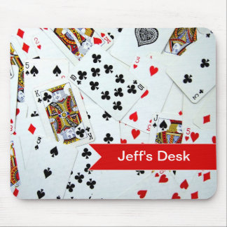 Playing Card games Mouse Mat