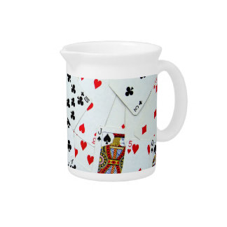 Playing Card games Pitcher