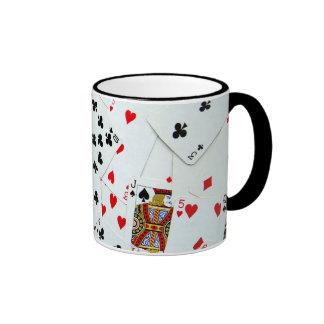 Playing Card games Ringer Mug