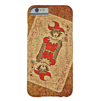Playing Card Joker iPhone 6/6s case Barely There iPhone 6 Case