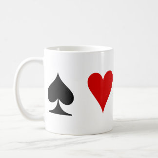 Playing Card Suits Coffee Mug