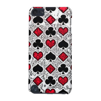 PLAYING CARD SUITS iPod Touch Speck Case