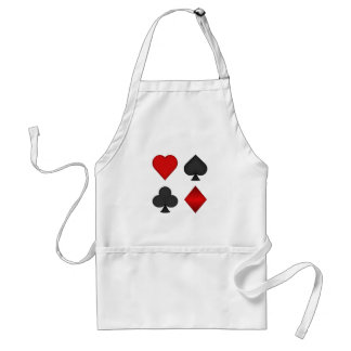 Playing Card Suits: Standard Apron