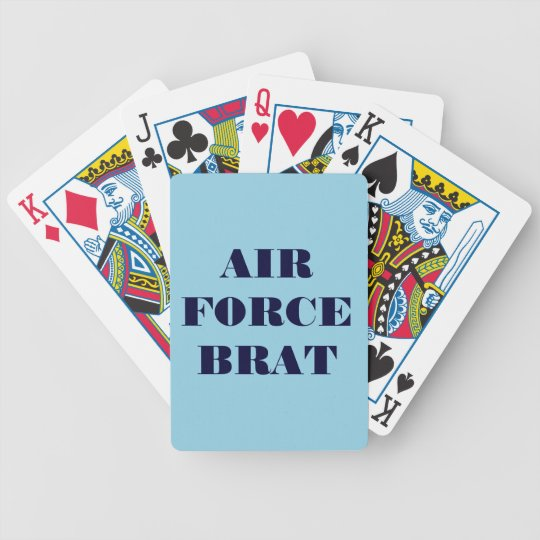 Playing Cards Air Force Brat