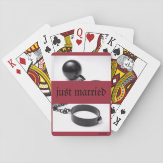 """Playing Cards """"Ball and Chain"""""""