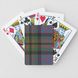 Playing Cards Bowie Ancient Tartan Print