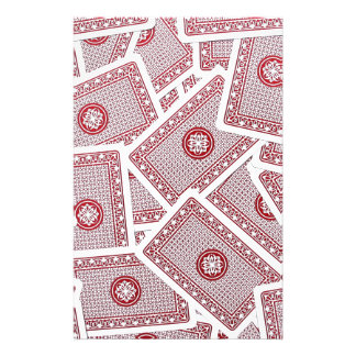 Playing Cards Customized Stationery