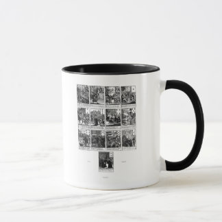 Playing cards depicting the impeachment mug