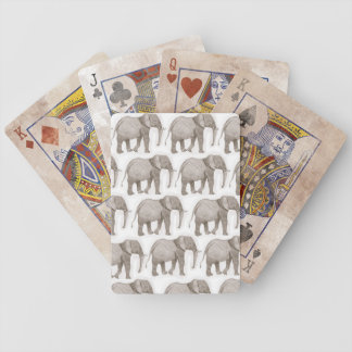 playing cards, elephant deck of cards