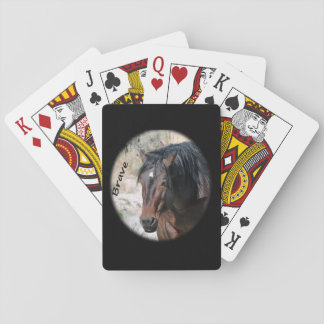 Playing Cards Featuring Brave