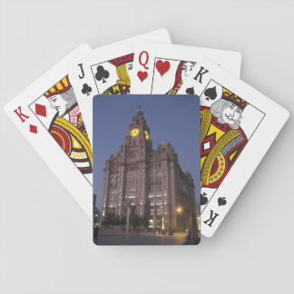 Playing Cards Featuring Liver Building (Liverpool)