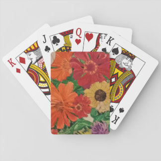 Playing cards for gardeners and flower lovers