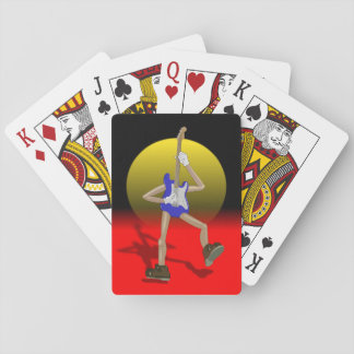 Playing cards for guitarists.