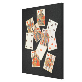 Playing Cards Gallery Wrap Canvas
