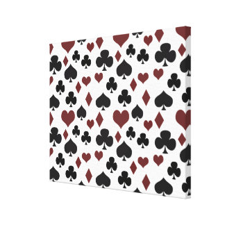 Playing Cards Gallery Wrapped Canvas