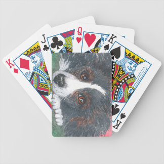 Playing cards gift, border collie theme