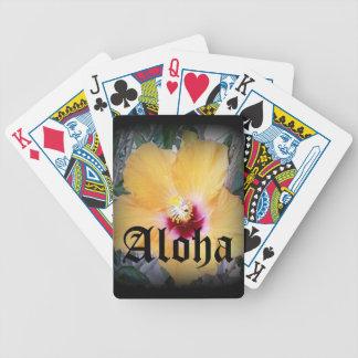Playing Cards Hawaiian Theme
