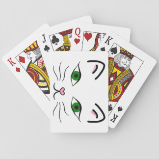 Playing Cards - Kitty Face