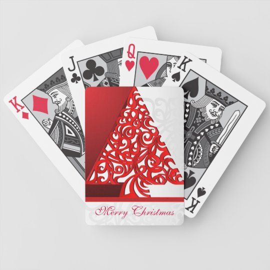 Playing Cards Merry Christmas