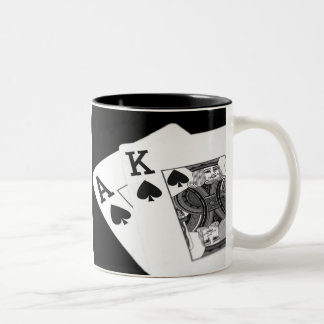 Playing Cards Poker I'm All In! Coffee Mug