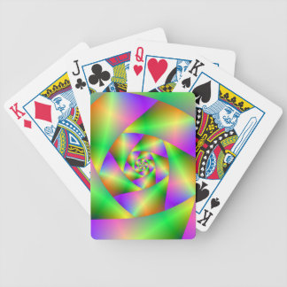 Playing Cards Psychedelic Spiral