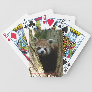 Playing cards - red panda