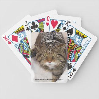 Playing cards - Scottish wildcat