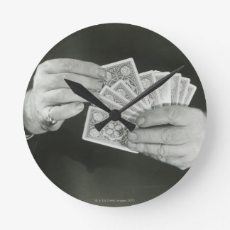 Playing Cards Wallclock