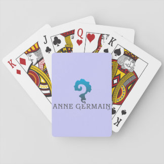 Playing Cards, with Anne Germain's unique logo Playing Cards