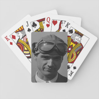 Playing cards with custom vintage photo
