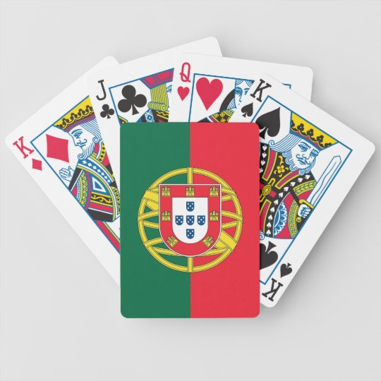 Playing Cards with Flag of Portugal