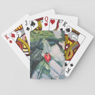"Playing Cards with ""Ladybug"" by ALarsenArtist"