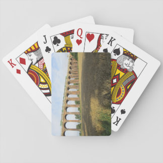 Playing Cards With Ouse Valley Viaduct and Train