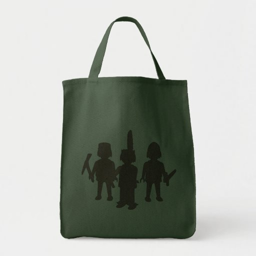 playing children playing children canvas bag