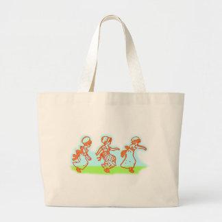 playing children playing children tote bag
