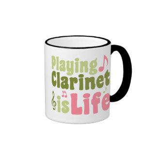 Playing Clarinet is Life Coffee Mug