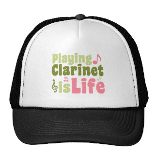 Playing Clarinet is Life Mesh Hat