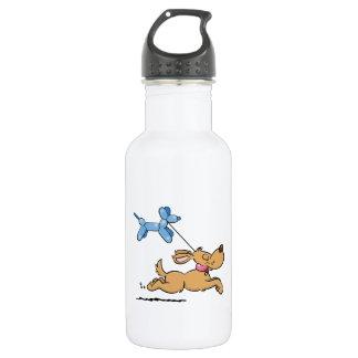 Playing Dog 532 Ml Water Bottle