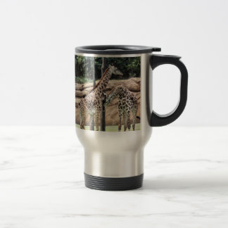 Playing Giraffes SS Travel Mug