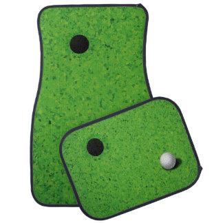 Playing Golf Car Mat