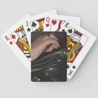 Playing guitar cards