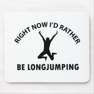 Playing  jumping mousepads
